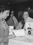 En la Feria del Libro de Buenos Aires.