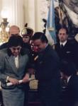 Premio Nacional de manos del Presidente de la Nación