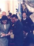 El Premio Nacional de manos del Presidente de la Nación