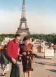 Marta con Daniel en Paris